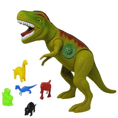 Dinossauro Com Som Tirano Rex