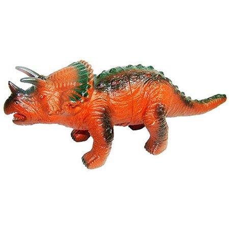 Dinossauro Com Som Triceratops