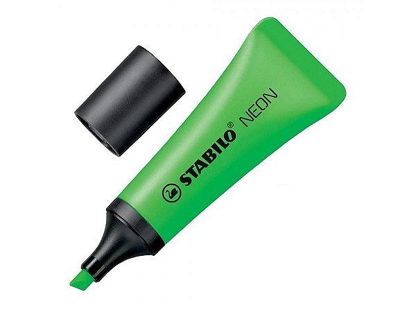 Marca Texto Bisnaga Verde Neon