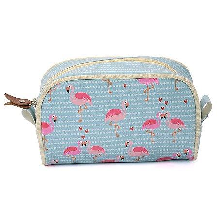 Necessaire de Viagem Flamingos