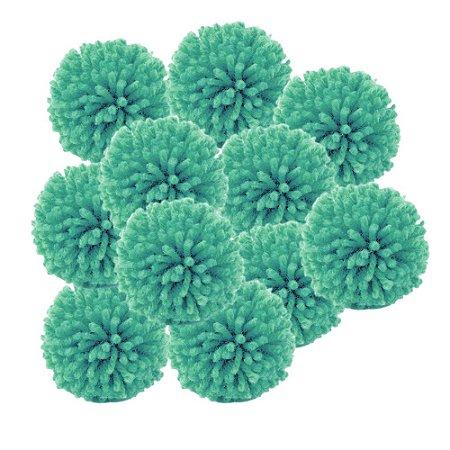 Pacote Pompom de Lã Verde