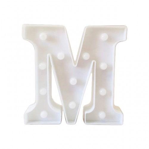 Luminária Letra M