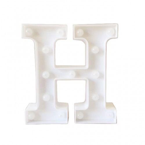 Luminária Letra H