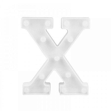 Luminária Letra X