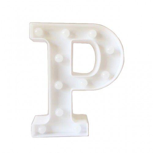 Luminária Letra P