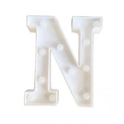Luminária Letra N