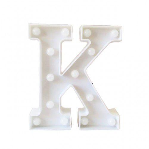 Luminária de Letra K