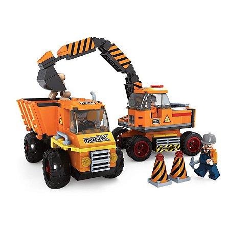 Brinquedo de Lego Escavadeira