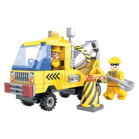 Brinquedo de lego Betoneira