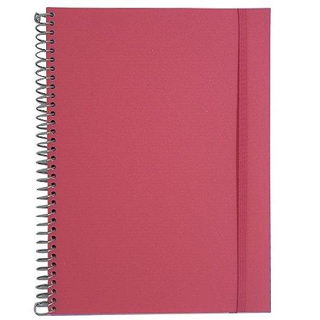 Caderno Universitário 96 Folhas Rosa