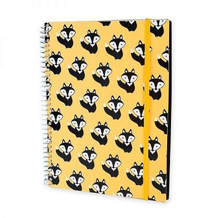 Caderno Universitário 192 Folhas Raposa