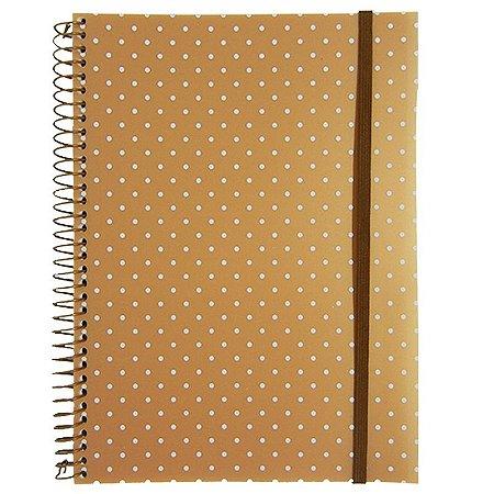 Caderno Universitário 96 Folhas Poá Ouro