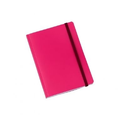 Caderno Médio Brochura 80 Folhas Rosa