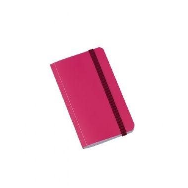 Caderninho Brochura 80 Folhas Rosa