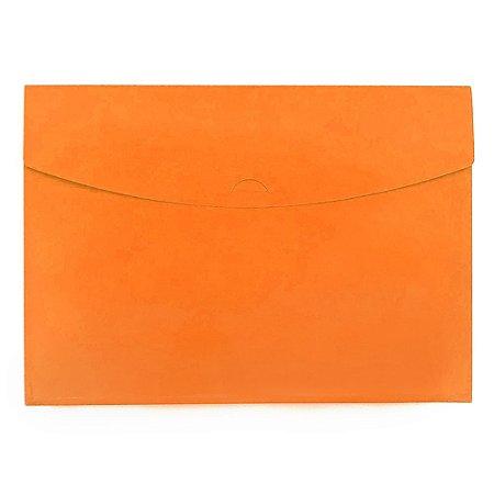 Pasta Envelope Laranja Neon