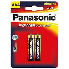 2 Pilhas AAA Panasonic