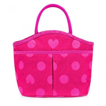 Bolsa Térmica com Bolso Rosa