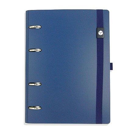 Planner Organizador Eco-Couro Azul