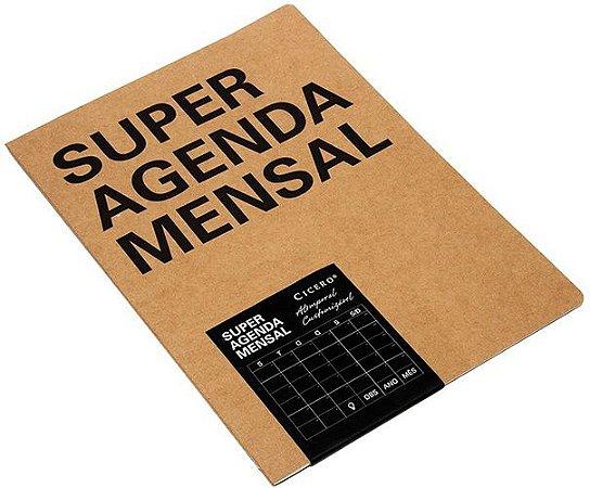 Agenda Mensal Na Medida - Super
