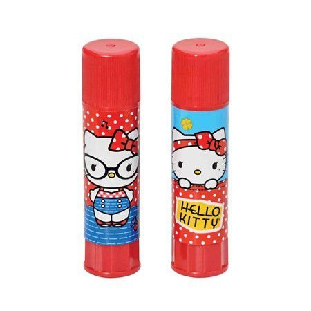 Cola Bastão 9g Hello Kitty Azul