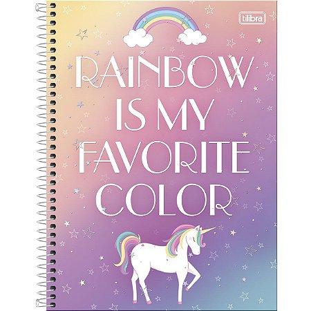 Caderno 160 Folhas Unicórnio