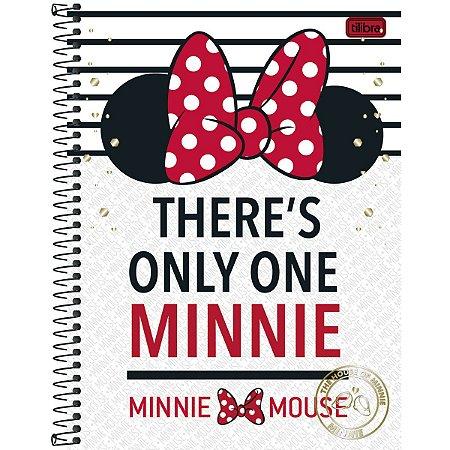 Caderno Minnie Mouse 96 Folhas