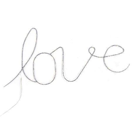 Enfeite Parede Love com Luz