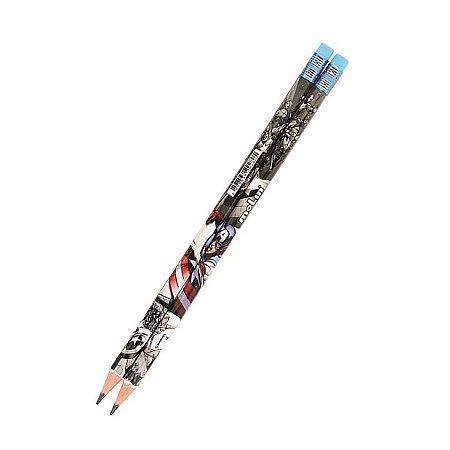 Lápis com Borracha Vingadores - Capitão América