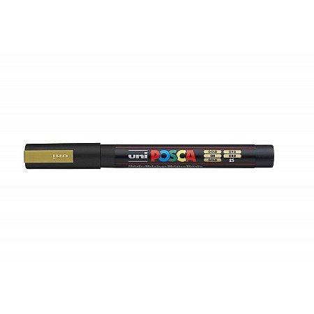 Caneta Posca - PC-3M - Dourada