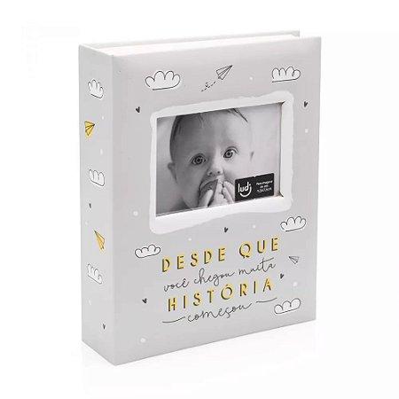 Álbum de Fotos do Bebê - Muita História