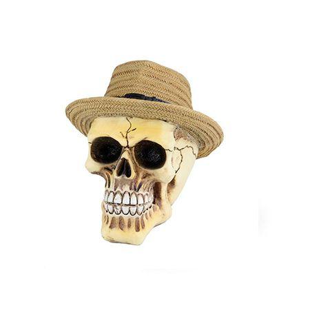 Mini Caveira Chapéu Panama