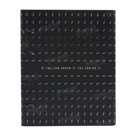 Caderno Fichário - Black Dreams