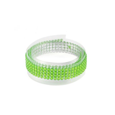 Fita Adesiva Washi Tape Strass Verde