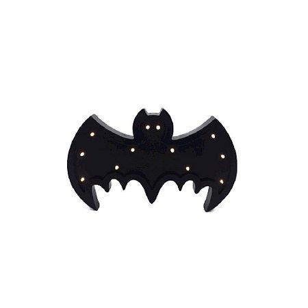 Luminária de Madeira Morcego