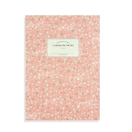 Caderno Brochura com Pauta Florido