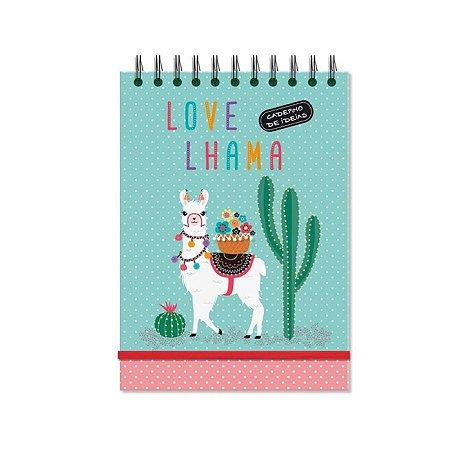 Caderno de Anotações Lhama