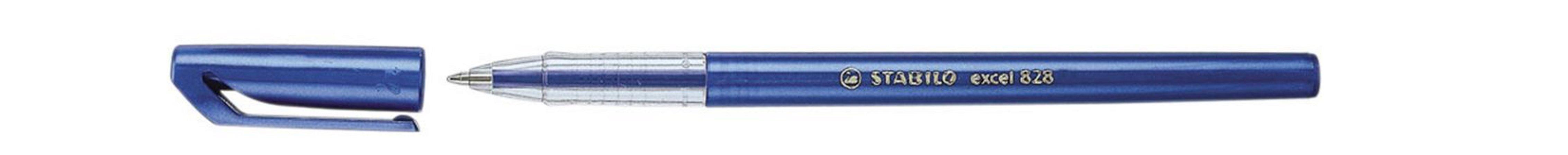Caneta Stabilo 828 M Azul