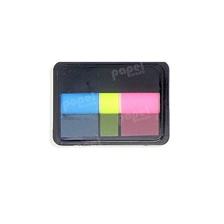 Post-It Neon Rosa e Azul/Amarelo