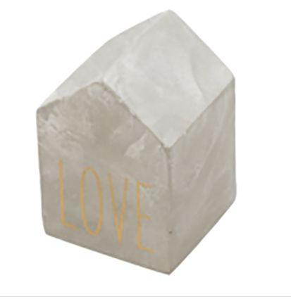 Peso de Papel de Cimento Love