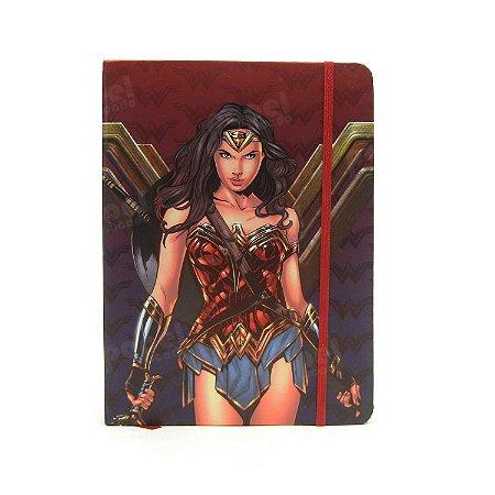 Caderneta Pautada Mulher Maravilha