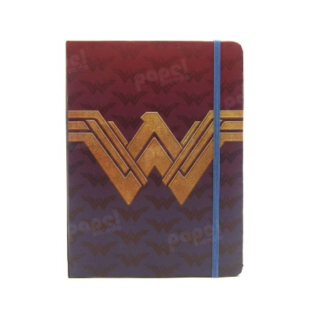 Caderneta Pautada Símbolo Mulher Maravilha