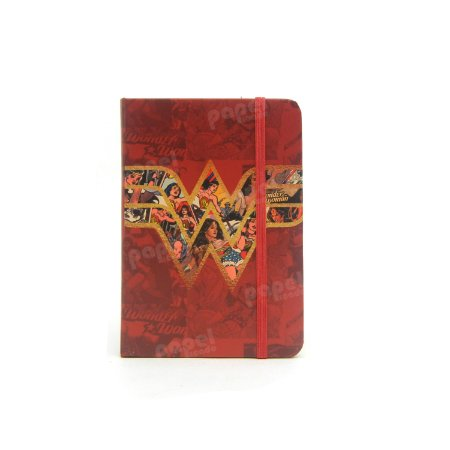 Caderneta Pequena Símbolo Mulher Maravilha