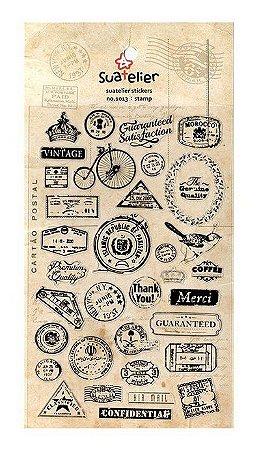 Adesivo Stamp