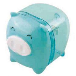 Apontador Porquinho Azul
