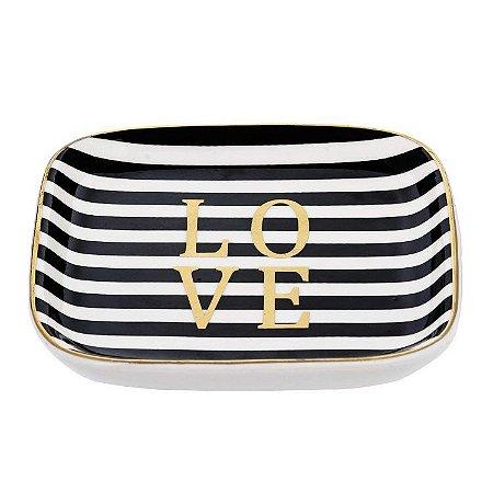 Porta Bijoux Listras Love
