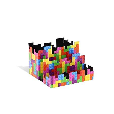 Porta-Lápis Duplo Pixel