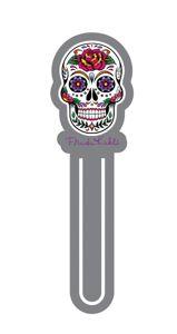 Marcador de Página Caveira Mexicana
