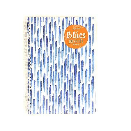 Caderninho Espiral Médio Chuva