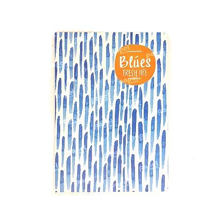 Caderninho Brochura Médio Chuva