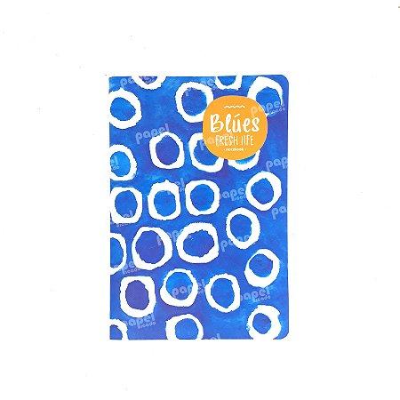 Caderninho Brochura Azul